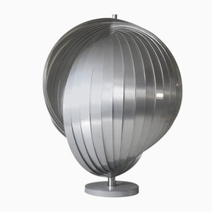 Large Moon Table Lamp by Henri Mathieu, 1970s