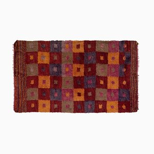 Vintage Moroccan Style Flokati Long Pile Tulu Rug, 1970s