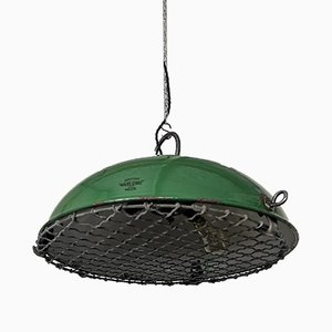British Maxlume Factory Ceiling Lamp from Revo, 1950s