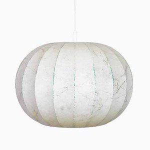 Mid-Century Cocoon Ceiling Lamp in the Style of Achille Castiglioni, 1970s