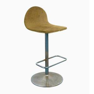 Vintage Stahl Barhocker von Willy Rizzo, 1970er, 2er Set