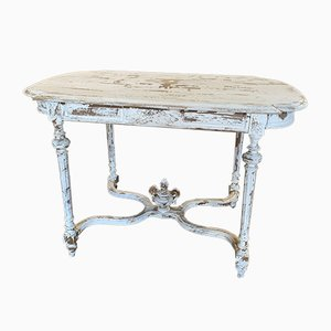 Antique French Painted Side Table, 1920s