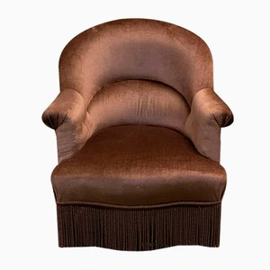 19th Century Napoleon III Crapaud Lounge Chair