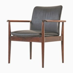 Danish Rosewood Model FD 901 Diplomat Armchair by Finn Juhl for France & Søn / France & Daverkosen, 1960s