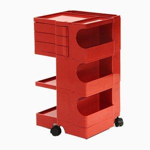 Red Model Baby Trolley by Joe Colombo for Bieffeplast, 1960s