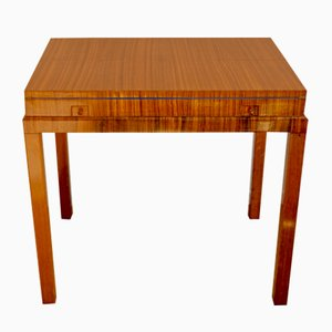 Vintage Rosewood Game Table in the Style of Lajos Kozma, 1930s