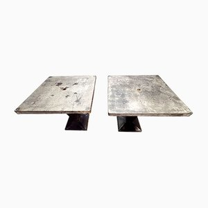 Mid-Century Dining Tables from Tolix, Set of 2