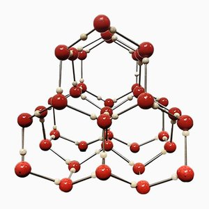 Ice Molecular Model from Leybold, 1960s