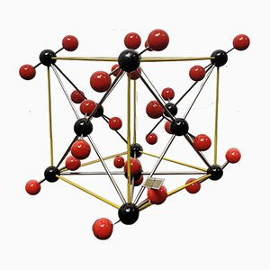 Carbon Dioxide Molecular Model from Leybold, 1960s