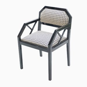 Lacquered Dining Chairs by Jean Claude Mahey for Maison Roméo, Paris, 1970s, Set of 2