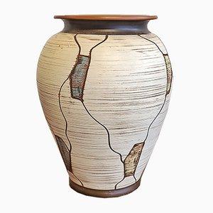 Décor Napoli en Céramique Nr. Vase 207/20 par Heinrich-Maria Müller pour Sawa Keramik, 1960s