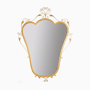 Vintage Wall Mirror by Pier Luigi Colli, 1970s