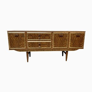 Mid-Century Sideboard with Bar Cabinet
