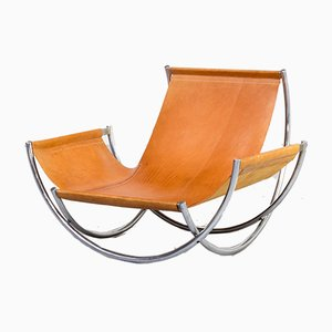 Model Wilo Lounge Chair by Lennart Bender for Wibro AB, 1970s