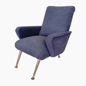 Mid-Century Armchair in the Style of Marco Zanusso, 1960s