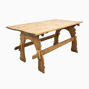 Antique Swedish PIne Farmhouse Table