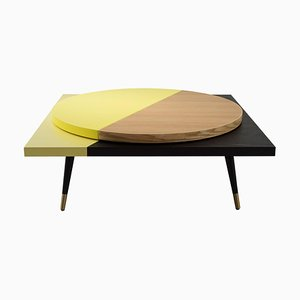 Rotating Round Top Table by Thomas Dariel