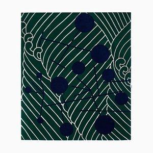 Alfombra Dadaist abstracta inspirada de Sophie Taeuber Arp