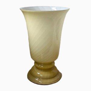 Gelbe geformte Tischlampe aus Murano Form, 1970er