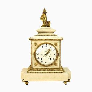 Große Louis XVI-Pendule mit Figur der Göttin Athene, 18. Jh.