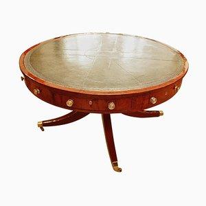 Large Mahogany Regency Center Table, 1800s