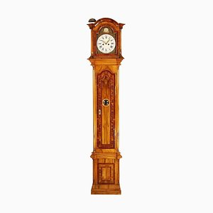 Late-18th Century German Marquetry Longcase Clock by Johann Wilhelm Wellershaus