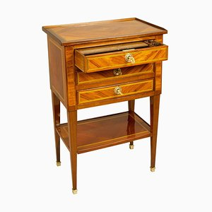 Small 18th Century French Louis XVI Parquetry Writing Table