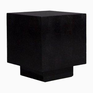 Tavolino vintage cubico in marmo