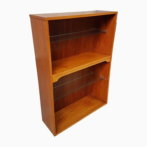 Mid-Century Danish Teak Bookcase Shelving Unit