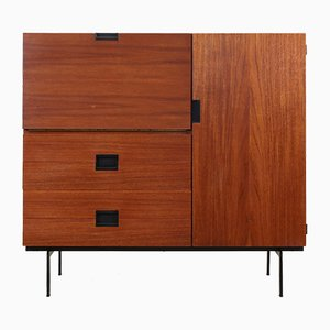 Teak CU01 Japanese Series Cabinet by Cees Braakman for Pastoe, 1950s