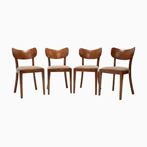 Dining Chairs by Jindrich Halabala, 1960s, Set of 4