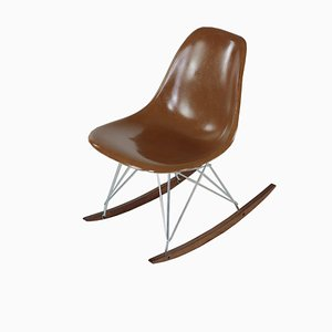 Rar Rocking Chairs by Charles & Ray Eames, 1970s
