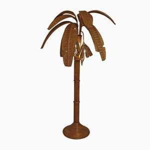 Vintage Banana Floor Lamp