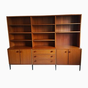 Mid-Century Dutch Teak Modular Mørkaste Wall Unit from Topform, 1960s