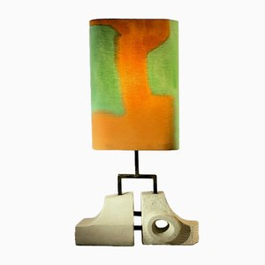 Sculptural Floor Lamp by Jean Perillaud, 1970s