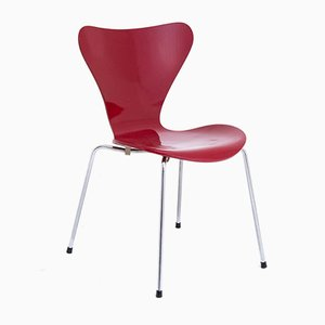 Red Chair from Fritz Hansen, 1983