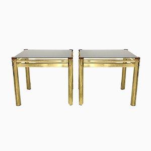 Vintage Danish Rosewood Side Tables, Set of 2