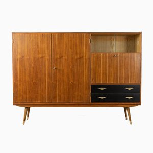 Walnut Veneer Sideboard, 1950s