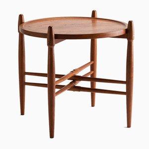 Danish Teak Tray Table by Poul Hundevad for Vamdrup, 1960s