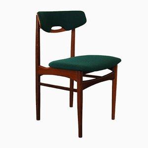 Mid-Century Teak Esszimmerstühle von Mahjongg Vlaardingen, 1950er, 5er Set