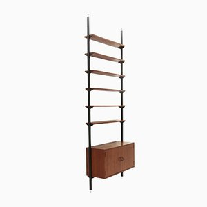Bookcase with Container and Shelves, 1960s