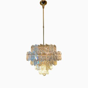 Crystal and Gilt Chandelier from Kinkeldey, 1970s