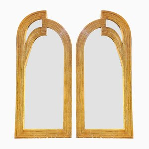 Grand Miroir en Rotin