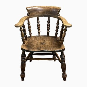 19th Century English Elm Armchair