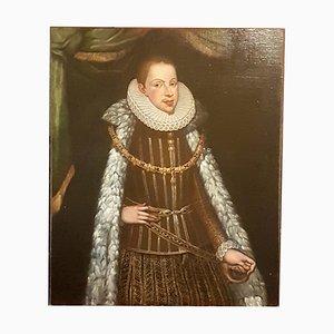 Pittura raffigurante ritratto di Filippo III di Spagna, XVII secolo