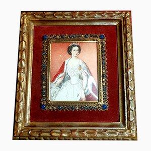 Retrato de la emperatriz de Austria, siglo XIX