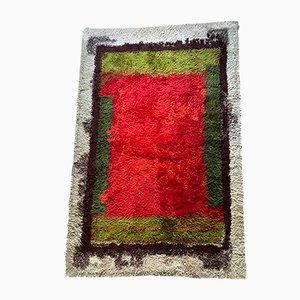 Mid-Century Italian Polychrome Carpet, 1970s