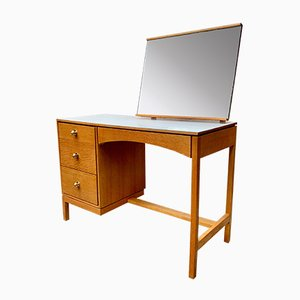 Vintage Dressing Table Desk with Mirror from Stag