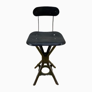 Vintage Industrial Stool from Evertaut, 1950s