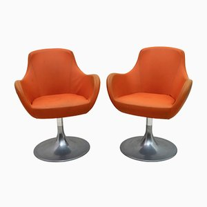 Mid-Century Italian Swivel Chairs, 1960s, Set of 2